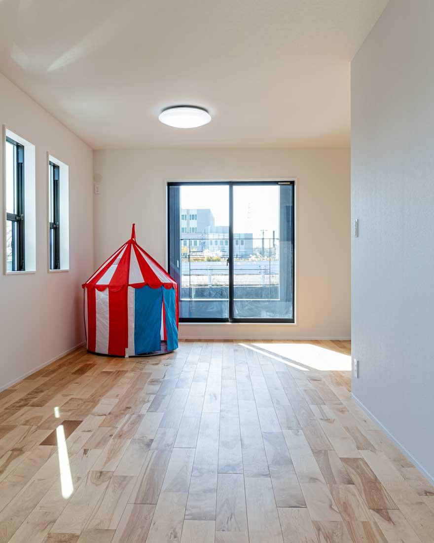 モデルハウスの子ども用スペース3