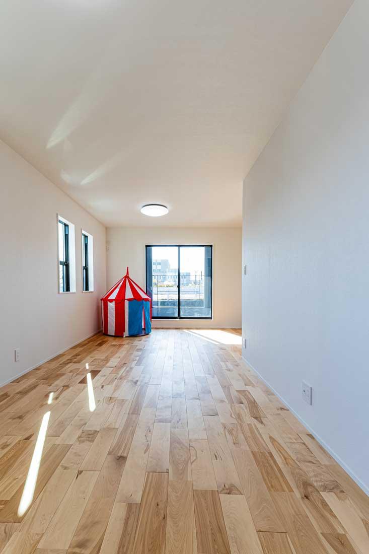 モデルハウスの子ども用スペース2