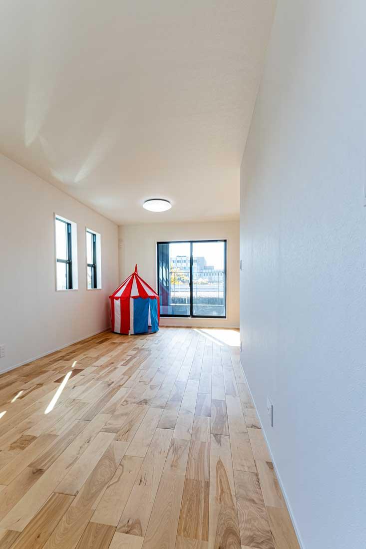 モデルハウスの子ども用スペース
