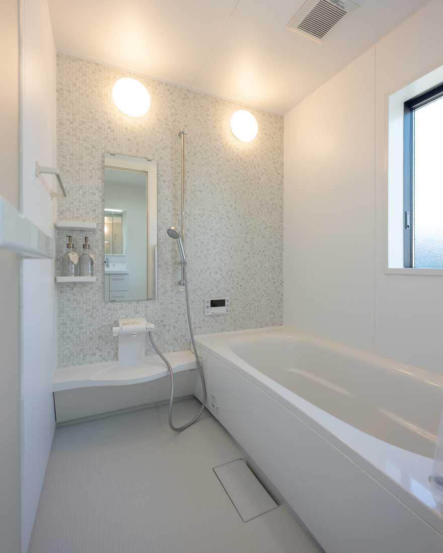 モデルハウスの浴室